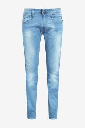 Next Mens Replay Anbass Power Stretch Slim Fit Jean