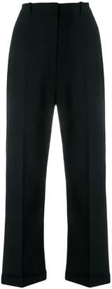 Jacquemus cropped straight leg trousers