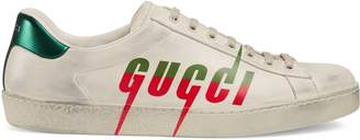 Gucci Men's Ace sneaker with Blade