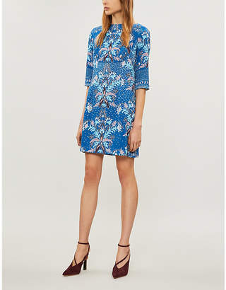 Peter Pilotto Patterned cloqué mini dress