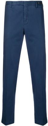 Pt01 plain straight-leg trousers