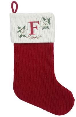 2e606dad5 Cross-Stitch Monogram Christmas Stocking