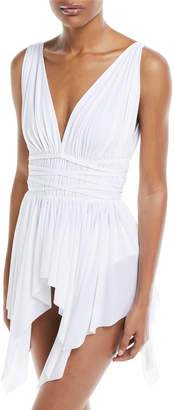 Norma Kamali Goddess One-Piece Swimdress