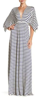 Rachel Pally Striped Caftan Maxi Dress