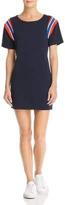 Pam & Gela Stripe-Inset T-Shirt Dress
