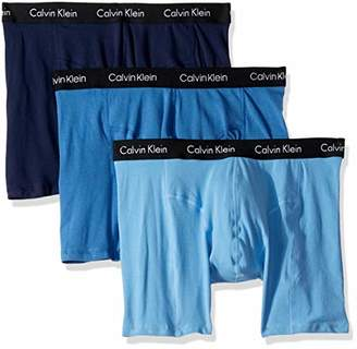 Calvin Klein Men's Elements 3 Pack Boxer Briefs