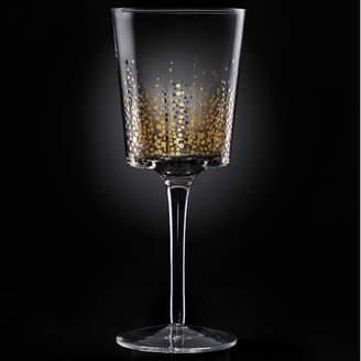 Fitz & Floyd Gold Luster Red Wine Goblet