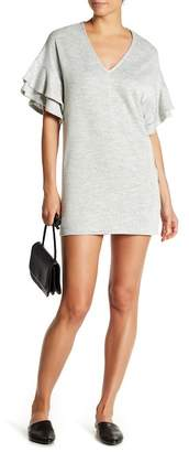 BCBGeneration Ruffle Short Sleeve Dress