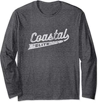 Coastal Elite   Funny Anti-Trump Democrat Long Sleeve Shirt
