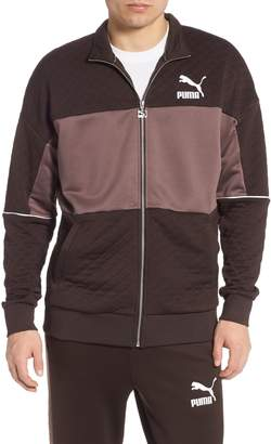Puma Retro Colorblock Quilted Jacket