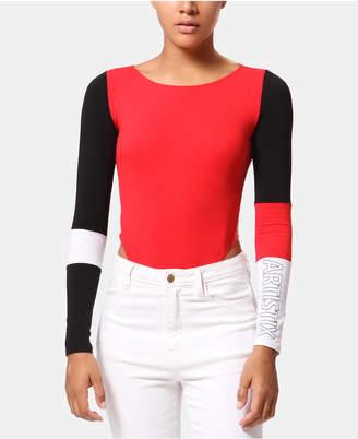 Artistix Colorblocked Bodysuit