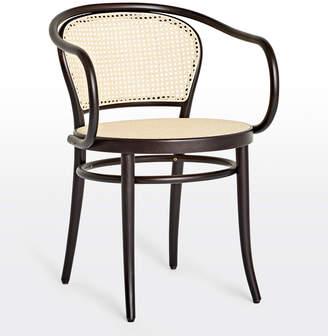 Rejuvenation Ton 33 Caned Arm Chair