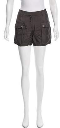 Belstaff Mid-Rise Mini Shorts