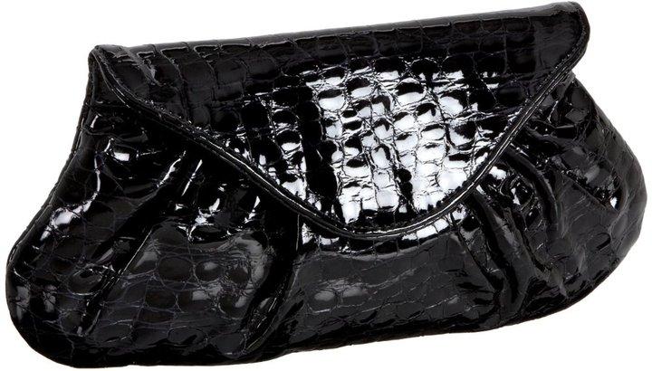 Lauren Merkin Lotte Patent Croc Clutch