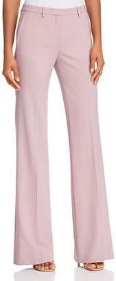 Theory Demitria Classic Stretch-Wool Pants
