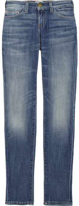 Current/Elliott Skinny low-rise jeans