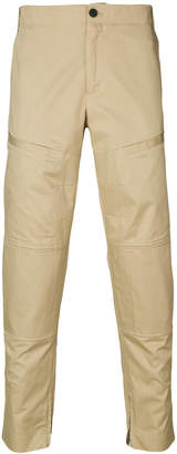 Les Hommes classic fitted chinos