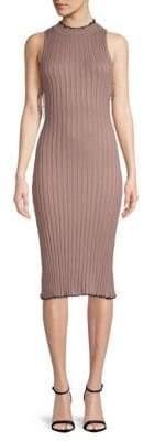 NBD Hope Ribbed Midi Dress