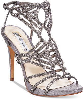 INC International Concepts Women's Surrie Evening Sandals, Only at Macy's $119.50 thestylecure.com