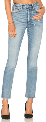 GRLFRND x REVOLVE Karolina High-Rise Skinny Jean $248 thestylecure.com