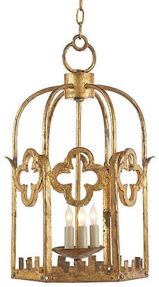 Visual Comfort & Co. Baltic Lantern - Gilded Iron