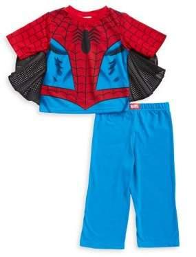 AME Sleepwear Little Boy's Spider-Man Two-Piece Pajama Set