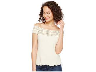 Scully Cantina Talia Organic Cotton Off the Shoulder Top Women's Clothing