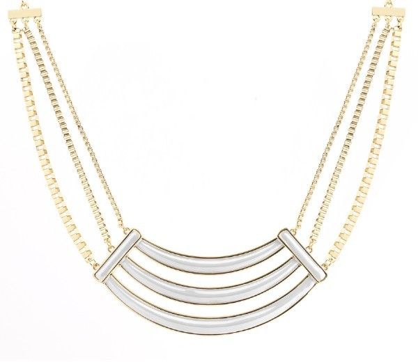 Belle Noel by Kim Kardashian Enameled Collar Necklace