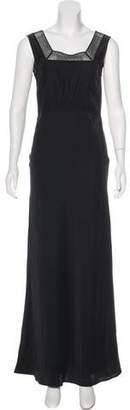 Jenni Kayne Silk Maxi Dress. w/ Tags