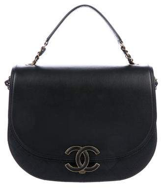 Chanel 2017 Medium Coco Curve Messenger Bag