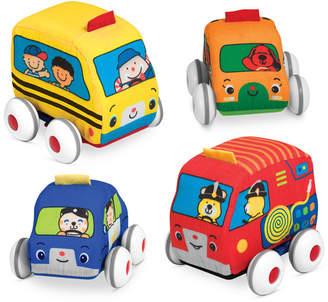 Melissa & Doug Kids' Pull-Back Vehicle Toys
