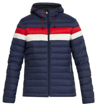 Perfect Moment - Pirtuk Hooded Down Filled Ski Jacket - Mens - Navy Multi