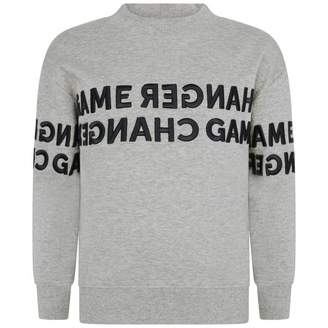 Molo MoloBoys Grey Morrison Sweater