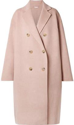 Acne Studios Odethe Oversized Wool And Cashmere-blend Coat - Pastel pink
