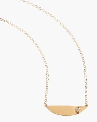 Melissa Joy Manning Diamond Semi Circle Necklace