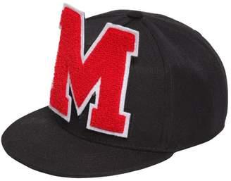 MSGM Logo Patch Baseball Hat