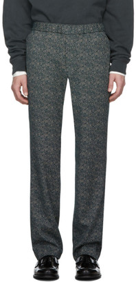 Schnaydermans Green Jacquard Trousers