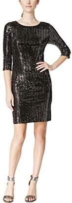 Jessica Howard Women's One-Piece Long Sleeve Shift Dress Dress