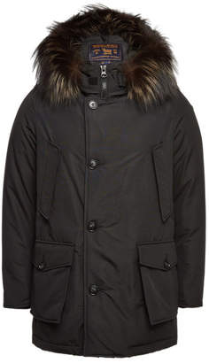 Woolrich Arctic Down Parka with Fur-Trimmed Hood