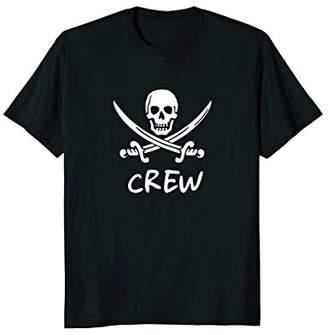 Boat Crew Member T Shirt - Jolly Roger Tshirt
