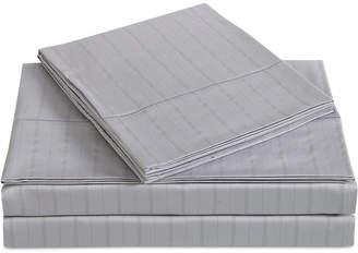 Charisma Classic Cotton Sateen 310 Thread Count 4-Pc. Stripe Queen Sheet Set