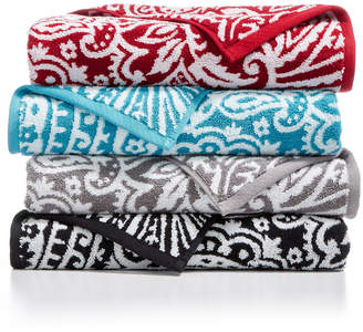Charter Club CLOSEOUT! Elite Cotton Fashion Paisley Bath Towel Collection, Created for Macy's & Reviews - Bath Towels - Bed & Bath - Macy's