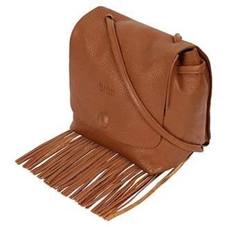 Leather Fringe Purse and Handbag - Boho Crossbody Purses for Women with Tassel (