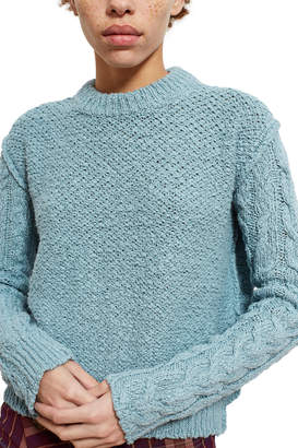 Acne Studios Hila Cable Sleeved Sweater