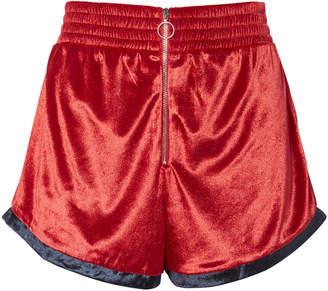 Fleur Du Mal Velour Shorts