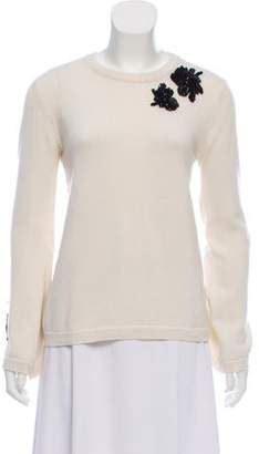 Prabal Gurung Embellished Cashmere Sweater