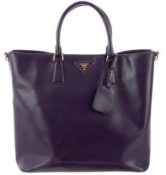 207d08f0d3f9 Prada Saffiano Vernice Bag - ShopStyle