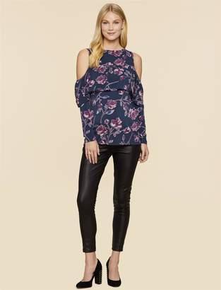 Jessica Simpson Motherhood Maternity Side Panel Skinny Leg Maternity Pants