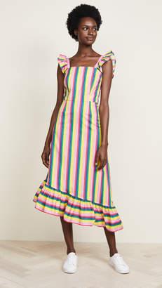 DAY Birger et Mikkelsen STAUD Valentina Stripe Dress