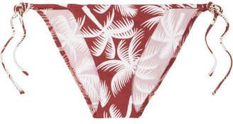 Eres Malou Printed Bikini Briefs - Brick